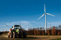 Tractor and MelancthonGrey Wind Project