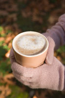 Person Holding Hot Chocolate