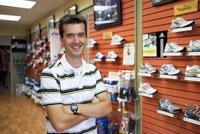 Portrait of Shoe Salesman