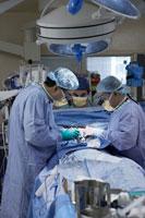 Doctors Performing Open HeartSurgery