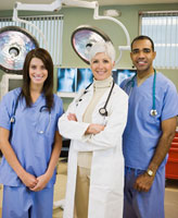 Portrait of Doctor and Nurses
