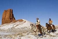 Cowboys on Horseback,Shell, Wyoming, USA
