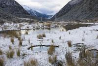 Arthur's Pass in Winter,New Zealand