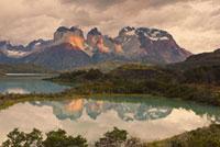 Cuernos Del Paine, Torres delPaine National Park, Patagonia,
