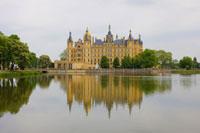 Schwerin Castle、Schwerin、 Mecklenburg-Vorpommern、Germany