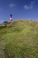 Lighthouse of Hoernum, Sylt, North Sea, North Frisian Island, Germany