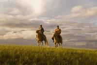 Horsemen in Inner Mongolia