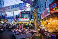 People Shopping in Namdaemun Market