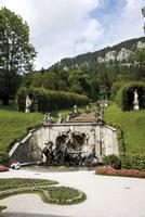 Germany Bavaria, Linderhof Castle Neptune fountain