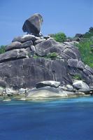 Similan Islands,Island Nr. 8, Donald Duck rock, Khao Lak, Thailand