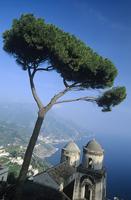 Italy, Ravello, View from Villa Rufolo