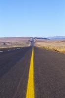 R 74 to Harrismith, Free State, Drakensberg, Southafrica, RSA
