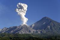 Guatemala, Santiaguito volcano