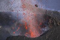 Italy, Eruption of Stromboli Volcano