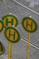 German Bus Stop Signs
