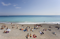 France, Cote d'Azur, Nice, Beach holiday