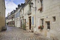 Street,Azay le Rideau,Indre-et-Loire,Loire Valley,France