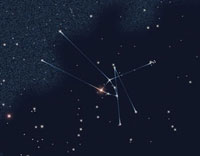 Constellation Taurus With Its Main Star Aldebaran