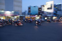 Motorcyclists,Ho Chi Minh City,Vietnam