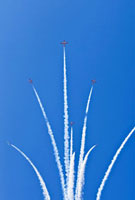 Snowbirds in Formation, Canadian Forces Airshow 2009, CFB Tr