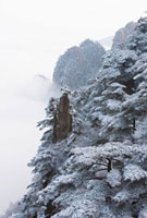 Winter Landscape,Yellow Mountains,China