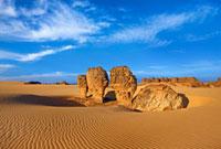 Desert Rock Formations,Tassili du Hoggar