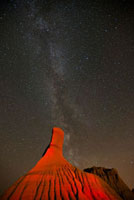 Milky Way Over Dinosaur Provincial Park