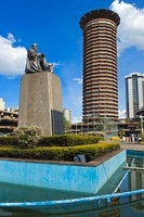 Jomo Kenyatta Statue and Conference Centre, Nairobi, Kenya