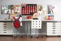 Desk in Child's Bedroom