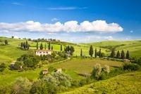 Farmhouse, Monticchiello, Tuscany, Italy