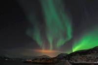 Northern Lights, Sommaroy, Tromso, Troms, Norway