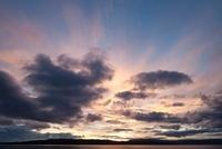 Stormy Sky Over the Beagle Channel, Tierra del Fuego, Patago