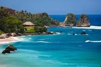 Beach at Nihiwatu Resort, Sumba, LesserSunda Islands, Indone