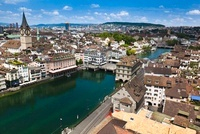 Cityscape, Zurich, Switzerland