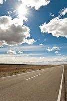 Road, Pampas, Patagonia, Argentina