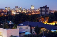 Pretoria at Dusk, Gauteng, South Africa