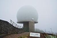 Weather Station on Pico do Arieiro, Madeira, Portugal