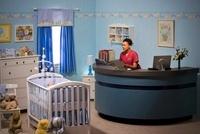 Nurse in Baby's Room