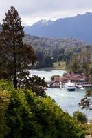 Tour Boat and Dock, Lake Moreno, Argentina