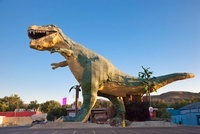 World's Largest Dinosaur, Drumheller, Alberta, Canada