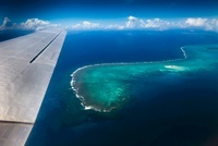 Aerial View of Ha'apai Islands from DC-3 Airplane, Kingdom o