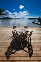 Table and Chairs at Beachfront Resort, Vava'u, Kingdom of To