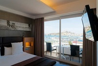 Hotel Room, Ocean Drive Hotel, Ibiza, Balearis Islands, Spai