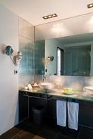 Hotel Room Bathroom, Ocean Drive Hotel,Ibiza, Balearic Islan