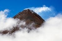 Volcan de Fuego as seen from Acatenango, Guatemala