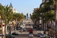 Downtown Ventura, Los Angeles, California, USA