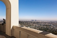 View of City from Griffith Observatory, Los Angeles, Califor