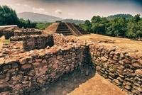 Ancient Tarascan Ruins, Tingambato, Michoacan, Mexico