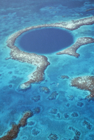 Blue Hole, Lighthouse Reef, Belize, Central America