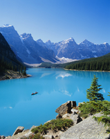 Valley of the Ten Peaks, Lake Moraine, Rocky Mountains, Banff National Park, Alberta, Canada